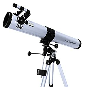 "900-76 EQ2 Telescopio riflettore con accessorio ""Big Pack"" incluso"