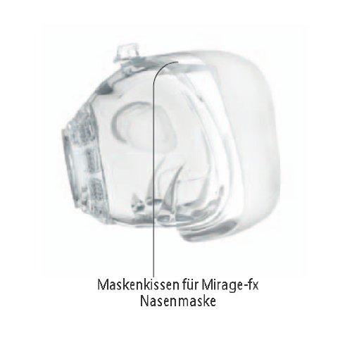 Maskenkissen Resmed Mirage-fx CPAP-Nasenmaske (Original Ersatzteil von Resmed)