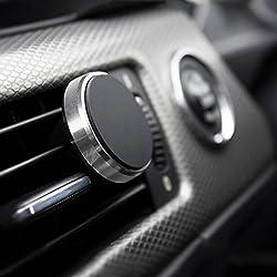 PROPORTA® Kfz Auto Magnetische Handy Halterung, Klimaanlage Lüfter Klammer mit Magnet-Clip Montage für Smartphone Tablet und GPS Navigationsgeräte