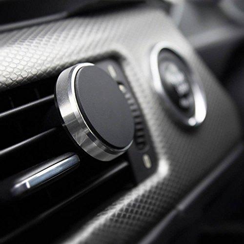 PROPORTA® Kfz Auto Magnetische Handy Halterung, Klimaanlage Lüfter Klammer mit Magnet-Clip Montage für Smartphone Tablet und GPS Navigationsgeräte (Auto-klimaanlagen)