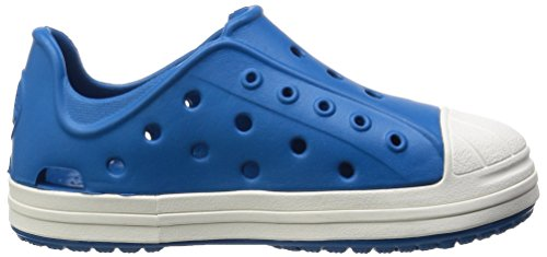 Crocs Bumper Toe, Sneakers Basses Mixte enfant Bleu (Ultramarine/Oyster)