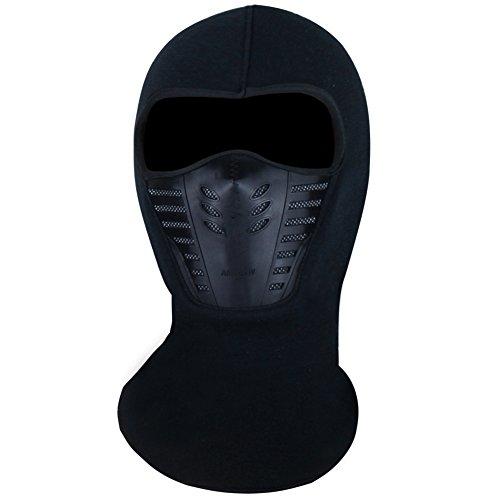 Magic Zone Balaclava Gesichtsmaske , Winter-Vlies-windundurchlässige Ski-Maske für Männer und Frauen (Sturmhaube Ski Maske)