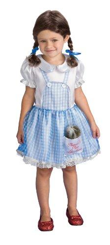 Rubie's RU885763T Wiz of Oz Dorothy Infant/Tdlr Zwei Haar Bögen und eine Plüsch Toto (Dorothy Of Halloween Oz)