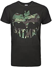Junk Food Batman Camo Logo Men's T-Shirt