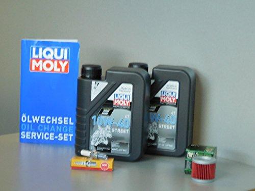 Kit d'entretien Suzuki UH 125Burgman Huile Filtre à huile Bougie d'allumage d'inspection Service