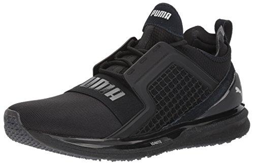 Puma Men's Ignite Limitless Terrain Sneaker, Black Black