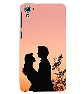TOUCHNER (TN) Couple 2 Back Case Cover for HTC Desire 826::HTC Desire 826 Dual