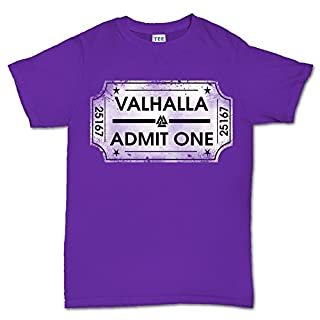 Epsion Ticket To Valhalla Vikings Norsk T Shirt