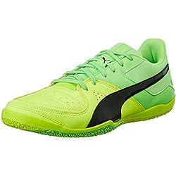 Puma Gavetto Sala, Botas de Fútbol para Hombre, Amarillo (Safety Yellow-Puma Black-Green Gecko 15), 43 EU