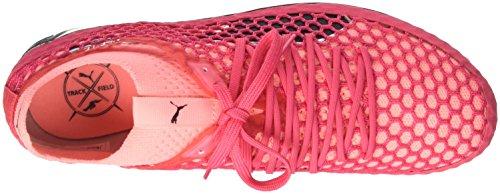 Puma Unisex-Erwachsene evoSPEED Netfit Sprint Leichtathletikschuhe Pink (Paradise Pink-Soft Fluo Peach-Puma Black)