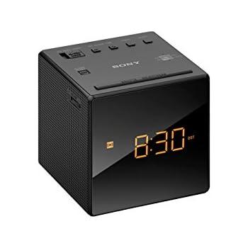 Sony ICF-C1 FM/AM Clock Radio - Black
