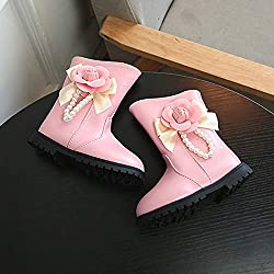 Zapatos de Bebé, LANSKIRT Recién Nacido Niño Niña Zapatilla de Deporte Cremallera Lateral Botas de Nieve Zapatos Bebé El Corte Ingles
