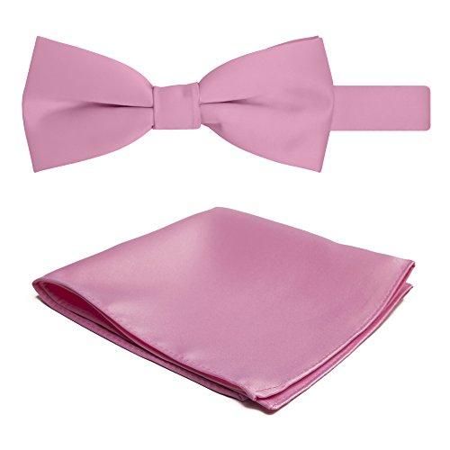 jacob-alexander-da-uomo-motivo-papillon-e-hanky-set-carnation-pink-taglia-unica