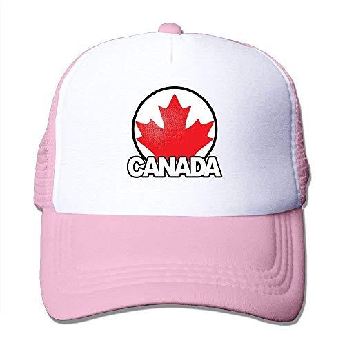 dfegyfr Canada Maple Leaf Adjustable Sports Mesh Baseball Kappen Trucker Cap Sun Hats Design19 (Kangol-hüte Camo)