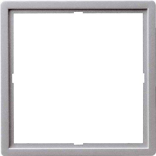 Gira 0282203 Adapterrahmen 50 x 50 quadratisch Gira E22 Aluminium