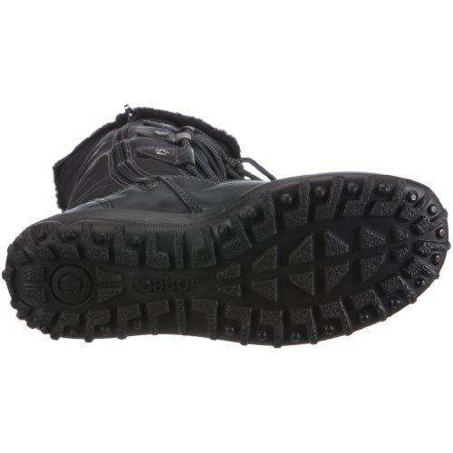 Gabor Shoes 16.738.57, Bottes femme Noir-V.2
