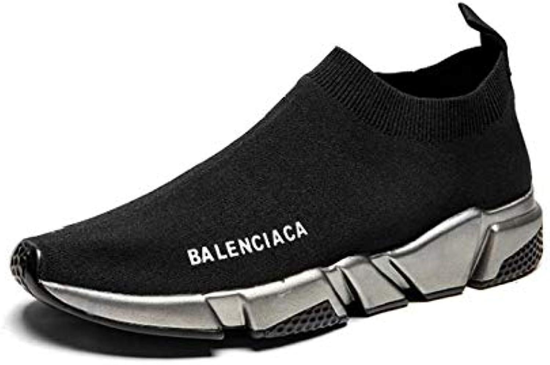 HYLFF Uomo Stretch calzino scarpe da ginnastica Donna Traspirante Sport Morbido Maglia Calzature Outdoor Escursionismo Scarpe... | Un equilibrio tra robustezza e durezza  | Scolaro/Signora Scarpa