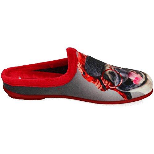 KOKIS, Pantofole donna Rosso