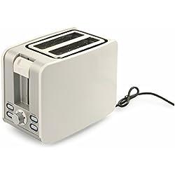 Kooper 2415169Grille-Pain Toasty, 920Watt, blanc/noir