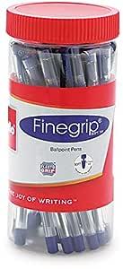 Cello Finegrip Ball Pen - 25 pens Jar (Blue)