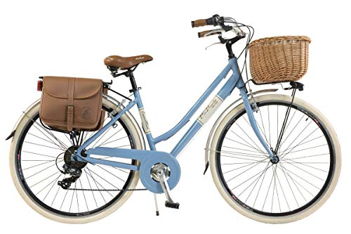 d310697738d Via Veneto by Canellini Bicicleta Bici Citybike CTB Mujer Vintage Retro Via  Veneto Aluminio (Azul