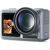 ULANZI OA-6 OSMO Action Fisheye Obiettivo Lega di alluminio 180 gradi Super Wide Angle Fish Eye Lens per DJI OSMO Action Camera Photography Accessori per videomaking