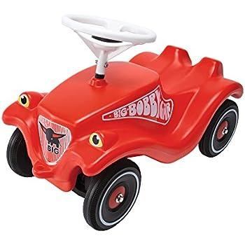 Big - 800001303 - Porteur Enfant - Vehicule Enfant - Big Bobby Car Classic - Rouge