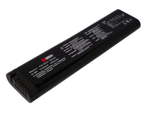 10,80V (Compatible avec 11,10V) 4000mAh NiMH Batterie de remplacement pour DURACELL DR35, DR35AA, DR35S Laptop Batterie