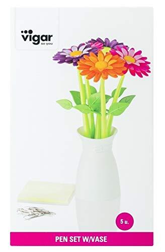 Zoom IMG-3 vigar flower power penne plastica