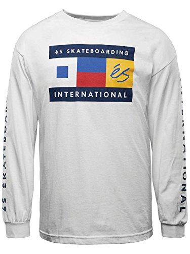 Herren Langarmshirt Es Nautical T-Shirt LS White