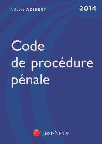 Code de procdure pnale 2014