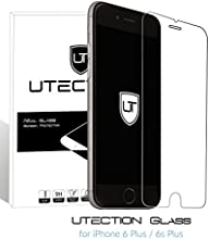 Protector Cristal Templado iPhone 6 Plus / 6s Plus Protector de Pantalla [Ultra Resistente - Crystal Clear]