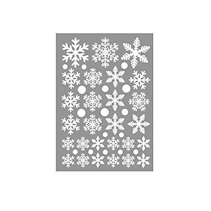 xmelug Decoraciones Navideñas, Copo De Nieve Etiqueta De La Pared Etiqueta De La Ventana Calcomanía Fiesta De Navidad Hogar Tienda Decoración del Dormitorio UNANone