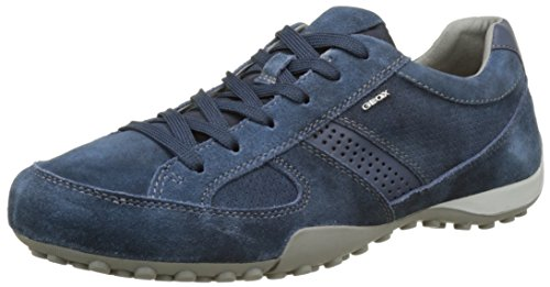 Geoxuomo Snake E - Baskets Basses Pour Homme Bleues (navyc4002)