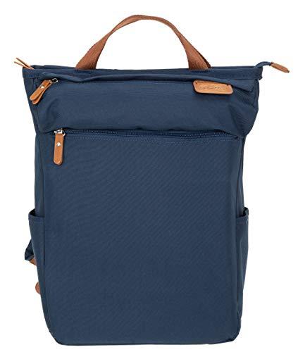 New Rebels Rucksack Damen Vintage Shop Patrick 51.1211 Büro Handtasche Backpack + Etui (Navy 02)