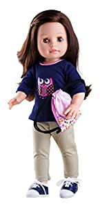 Paola Reina Paola reina76010Vestido con Zapatos para muñecas de 42cm Emily con Zapatillas