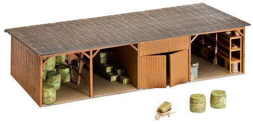 Faller 130523 - Heuballenlager mit Werkstatt - Spielzeug-bauernhof-gebäude