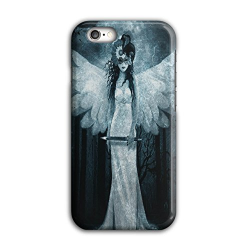 Engel Metall Rock Horror Grimmig Frau iPhone 6 / 6S Hülle | Wellcoda