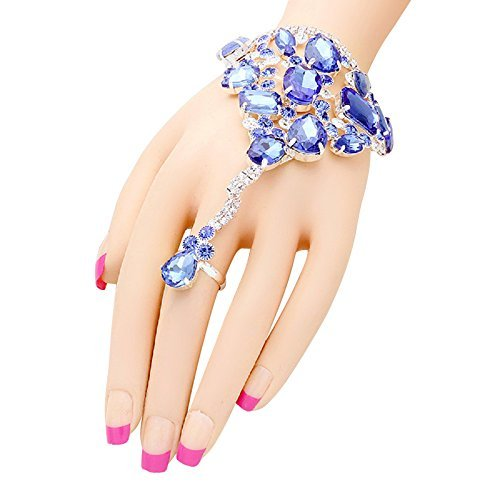 rosemarie-collections-womens-royal-blue-glass-crystal-bracelet-hand-chain-and-ring