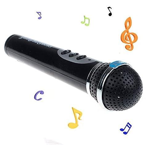 Microphone pour enfants Elyseesen Filles garçons Microphone Micro karaoké chant Kid cadeau drôle musique