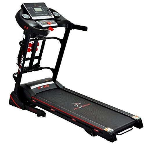 Fit-Force Cinta Correr Plegable 2000W masajeador,USB