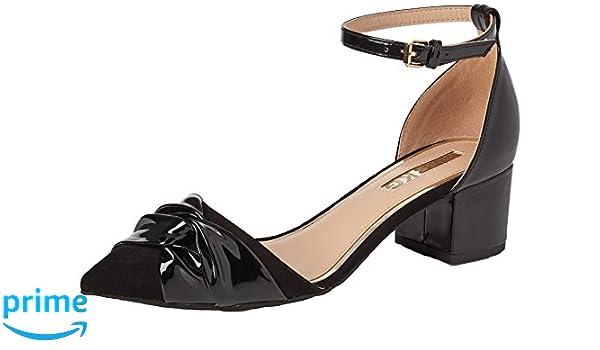 Miss KG Avenue Scarpe con Cinturino alla Caviglia Donna Nero Black 00