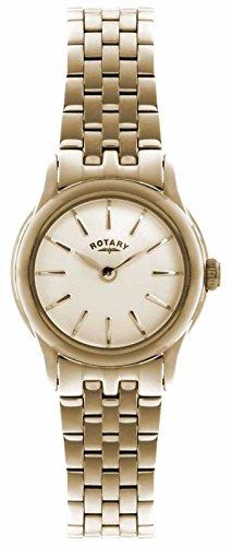 Rotary-Reloj de pulsera analógico para mujer (tamaño XS cuarzo, revestimiento de acero inoxidable lb02573/01