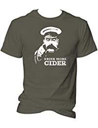 CG Drink More Cider Lord Kitchener Your Country Need You Unisex T-Shirt