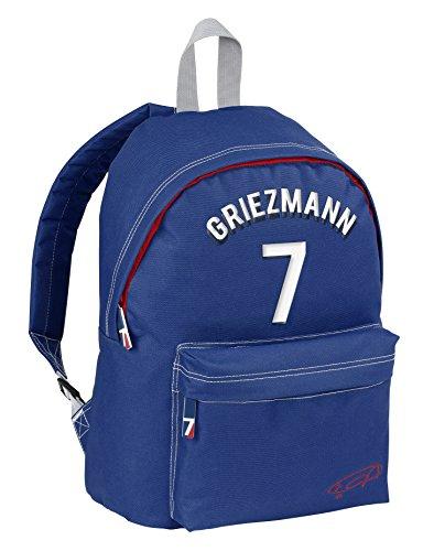 VIQUEL - Sac à dos enfant Antoine Griezmann Licence Officielle - Bleu