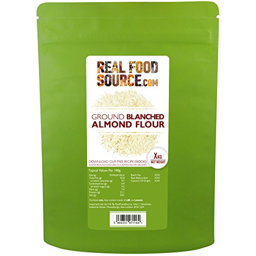 RealFoodSource Blanched Ground Almond Flour (2kg)