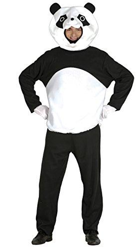 Guirca Kostüm Erwachsene Panda, Größe ()