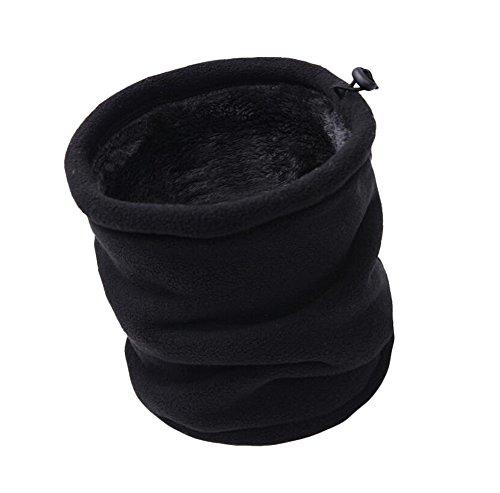Da.Wa Double Extérieur Colliers écharpe Chaude Multifonctionnelle Foulards du Harnais Sports d'hiver Bouchon Coupe-vent