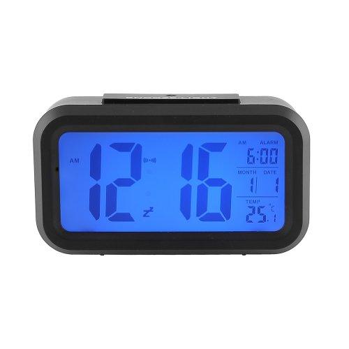 Orologio da Tavolo, Con Sensore di Tocco, a LED Digitale, di Retroilluminazione Multifunzioni Sveglia Tempo Data , A Forma di Rettangolare
