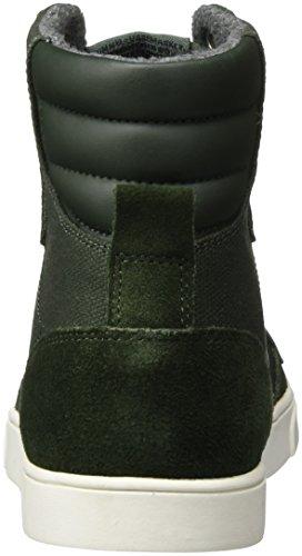 hummel Slimmer Stadil Smooth Canvas, Sneakers Hautes Mixte Adulte Vert (Rosin)